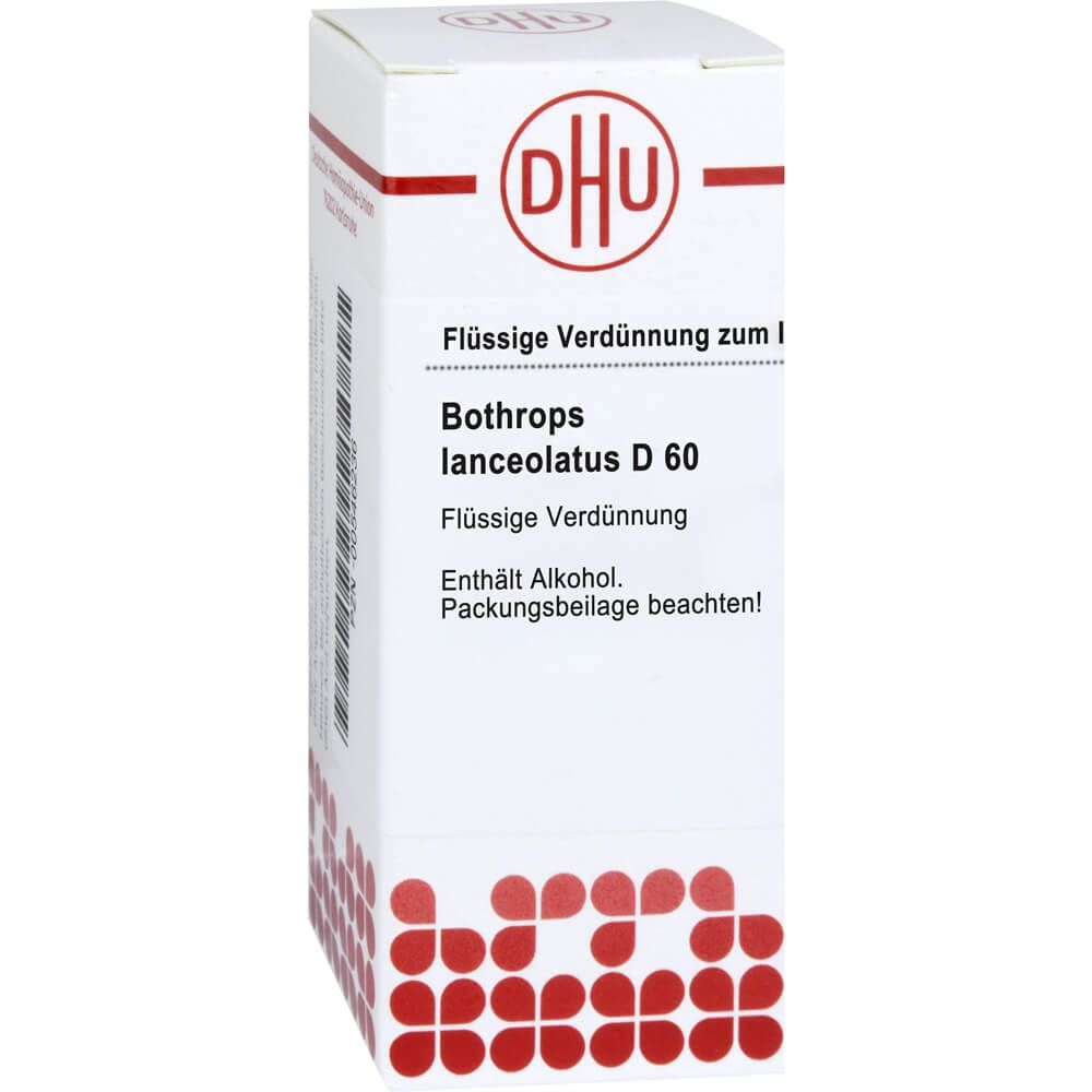 BOTHROPS lanceolatus D 60 Dilution