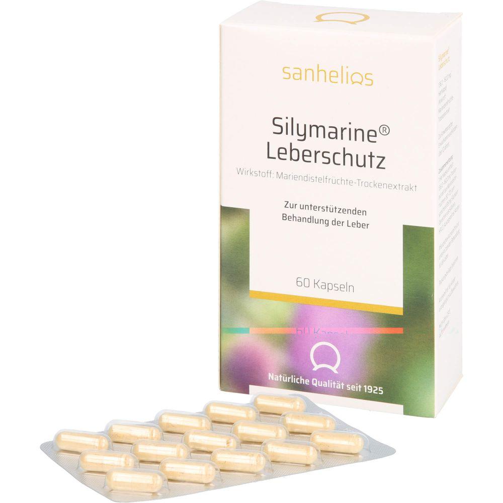 SILYMARINE Leberschutz Kapseln