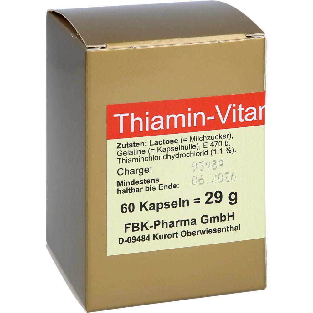 THIAMIN Kapseln Vitamin B1