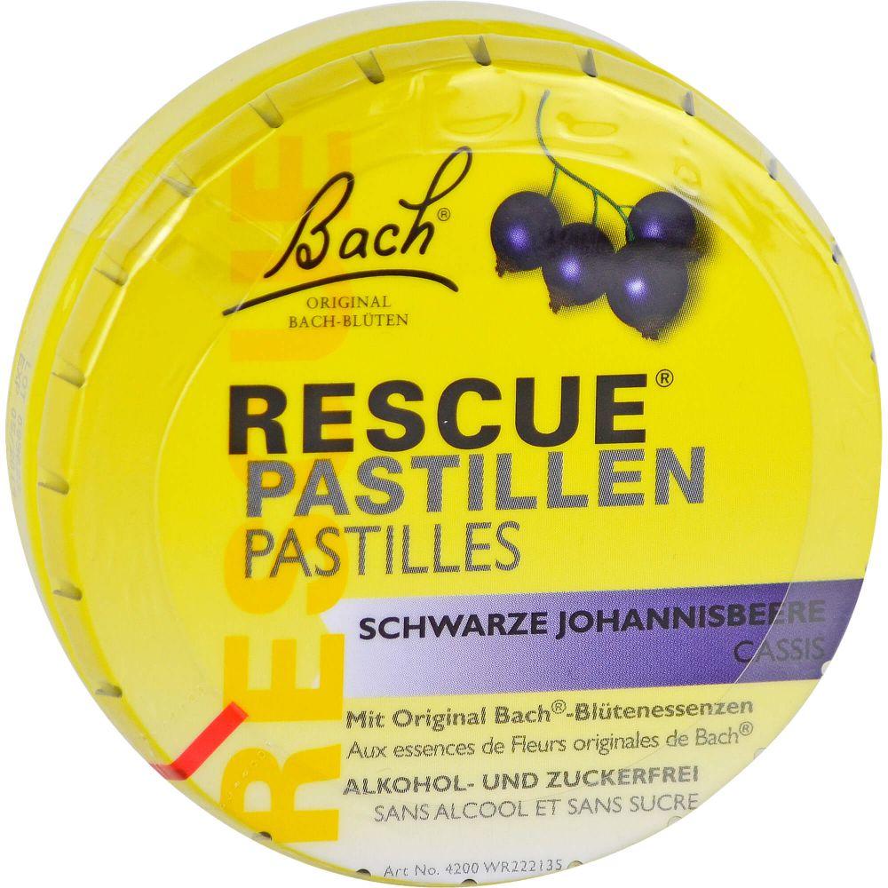 BACH ORIGINAL Rescue Pastillen schw.Johannisb.