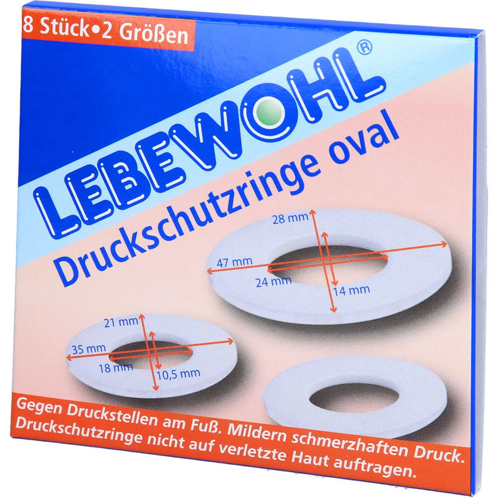 LEBEWOHL Druckschutzringe oval
