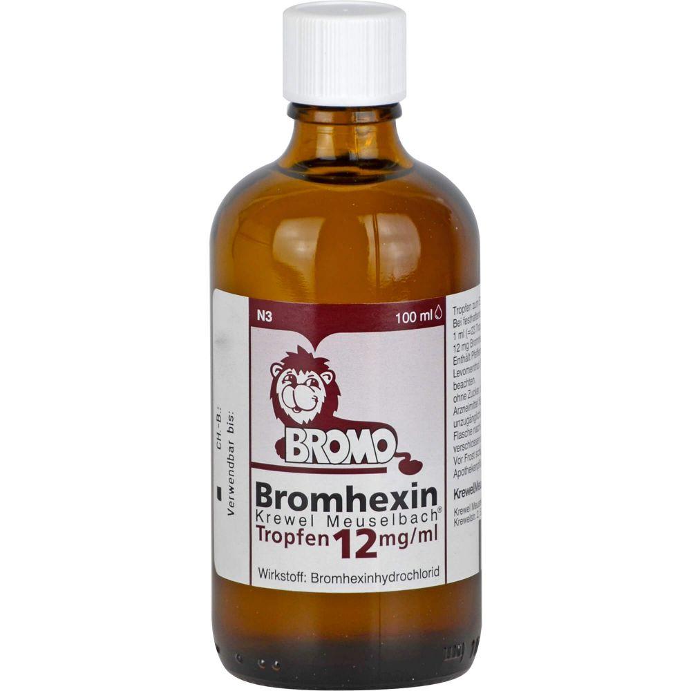 BROMHEXIN Krewel Meuselb.Tropfen 12mg/ml
