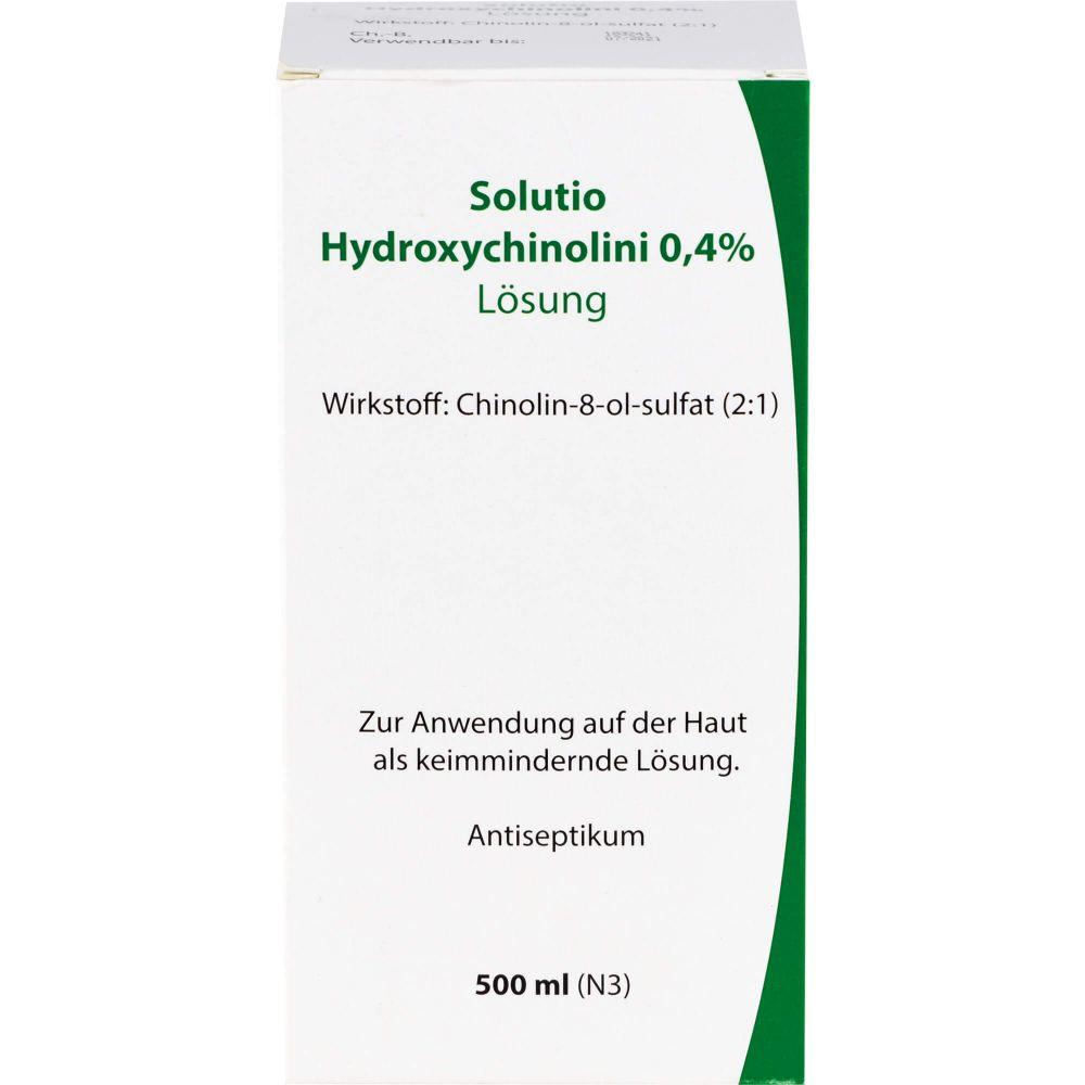 SOLUTIO HYDROXYCHIN. 0,4%