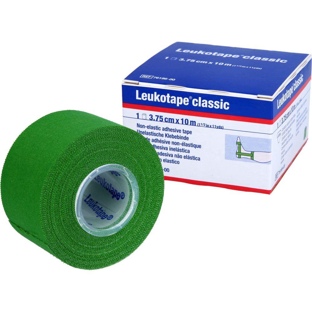 LEUKOTAPE Classic 3,75 cmx10 m grün