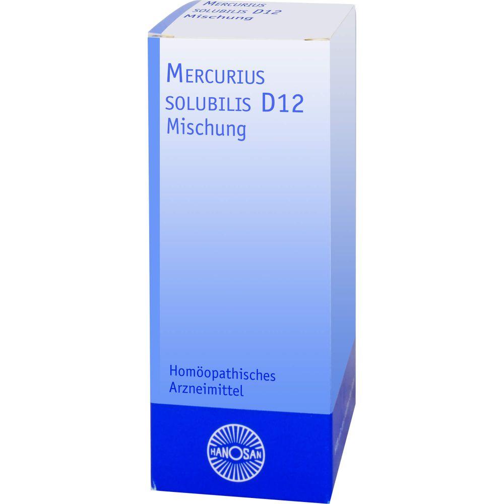 MERCURIUS SOLUBILIS D 12 Dilution