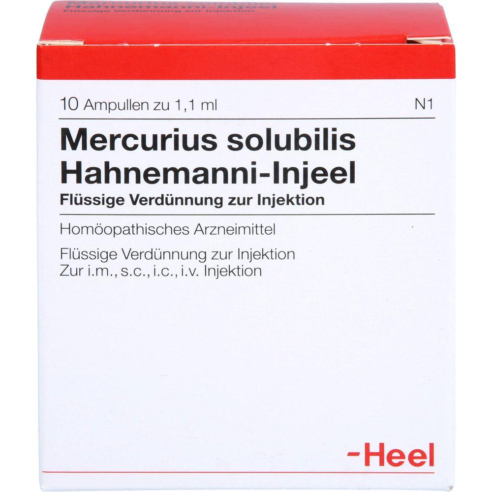 MERCURIUS SOLUBILIS INJEEL Hahnemanni Ampullen