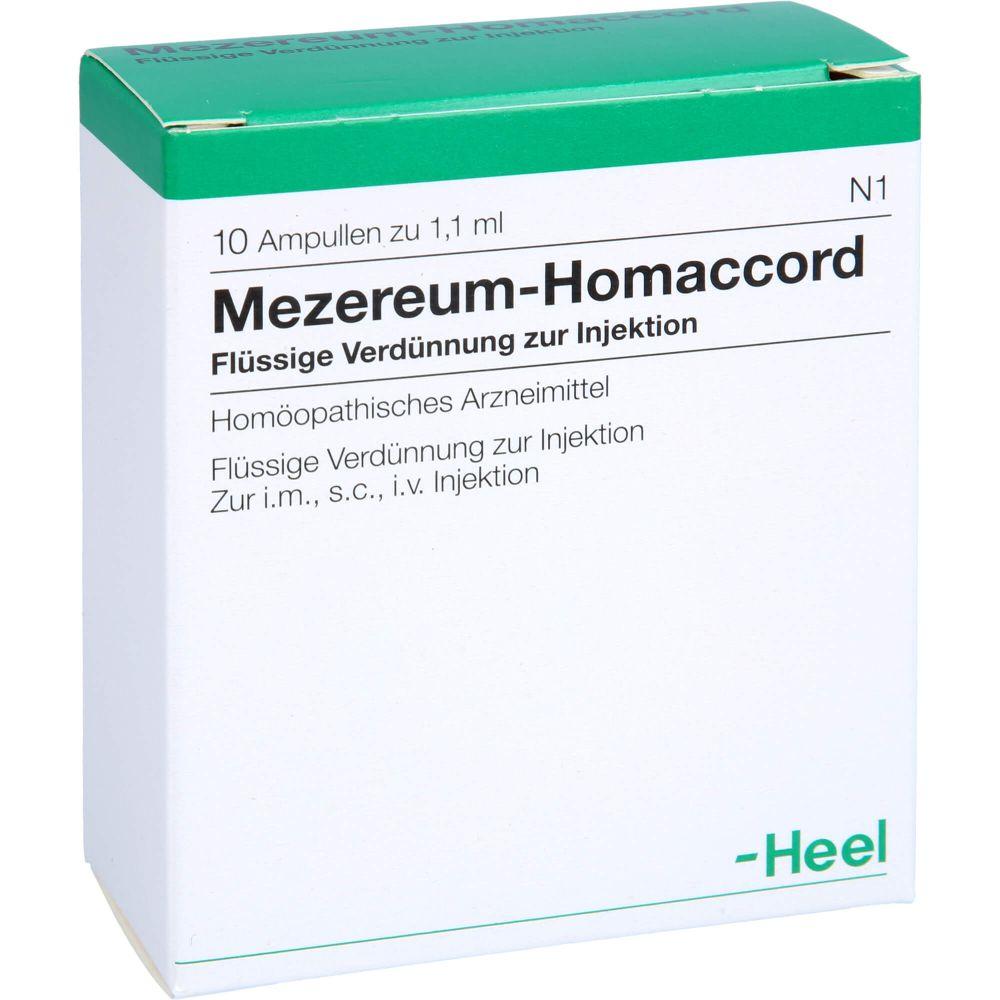 MEZEREUM HOMACCORD Ampullen
