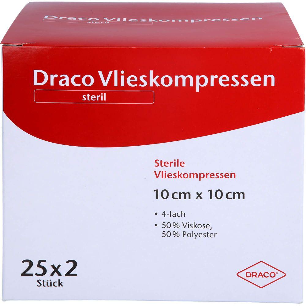 VLIESSTOFF-KOMPRESSEN 10x10 cm steril 4fach