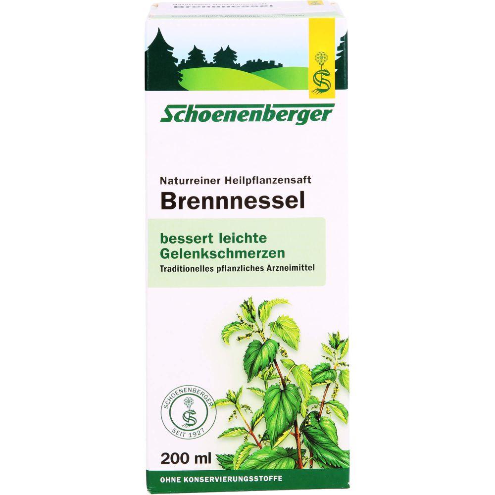 BRENNNESSELSAFT Schoenenberger