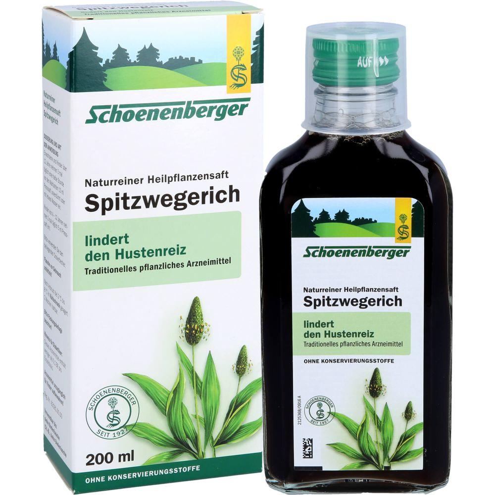 SPITZWEGERICHSAFT Schoenenberger