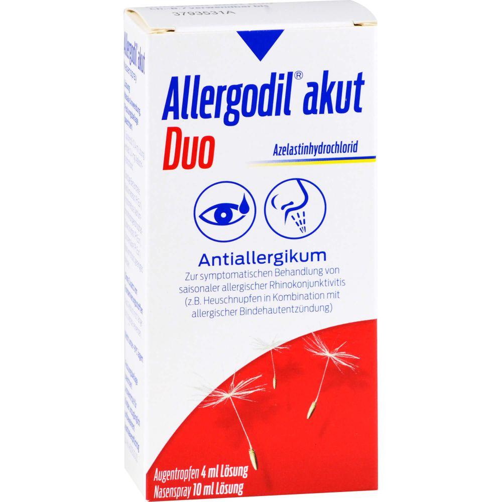 ALLERGODIL akut Duo 4ml AT akut/10ml NS akut