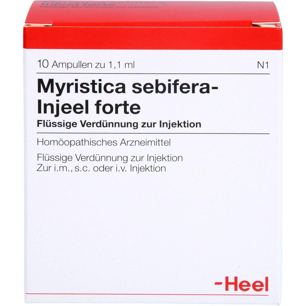 MYRISTICA SEBIFERA INJEEL forte Ampullen