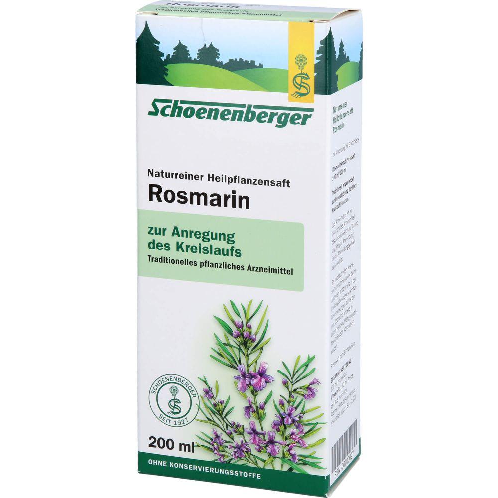 ROSMARIN HEILPFLANZENSÄFTE Schoenenberger
