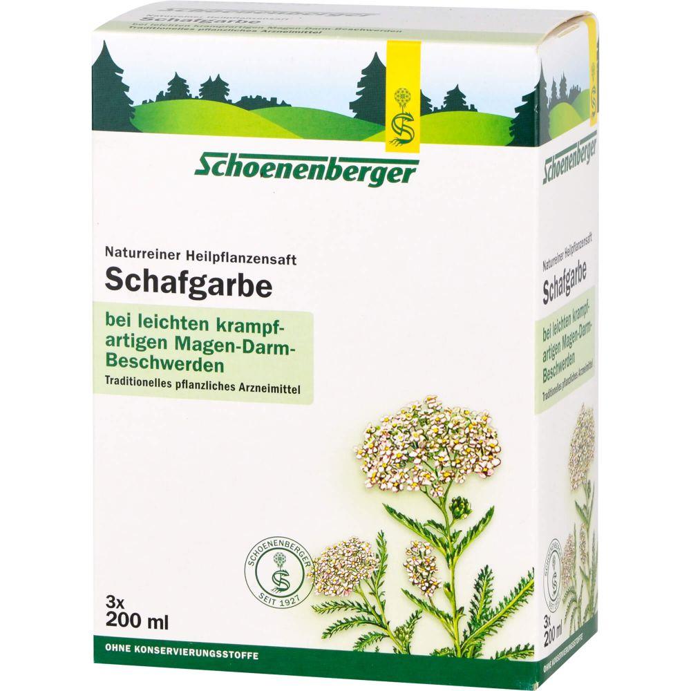 SCHAFGARBENSAFT Schoenenberger Heilpfl.Säfte