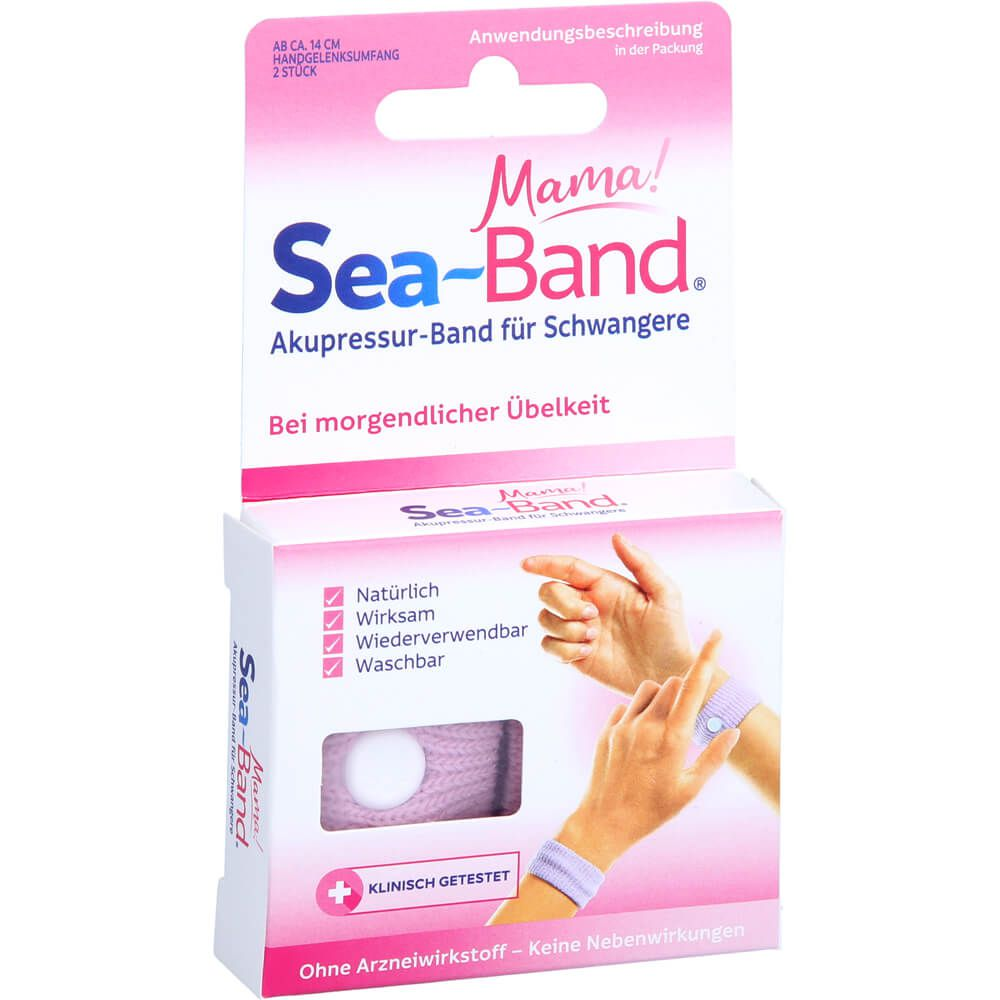 SEA-BAND mama Akupressurband für Schwangere