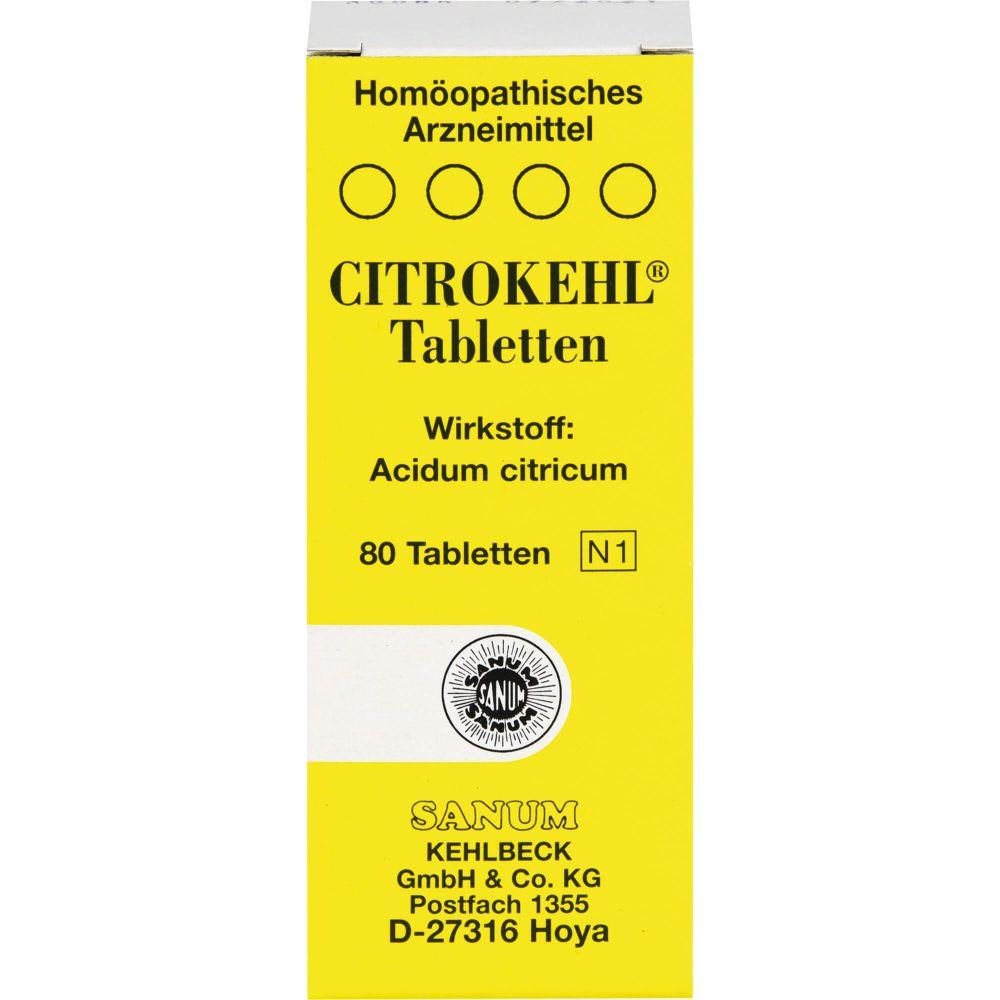 CITROKEHL Tabletten