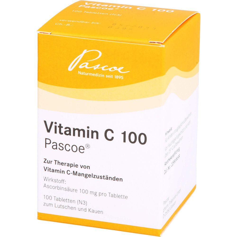VITAMIN C 100 Pascoe Tabletten