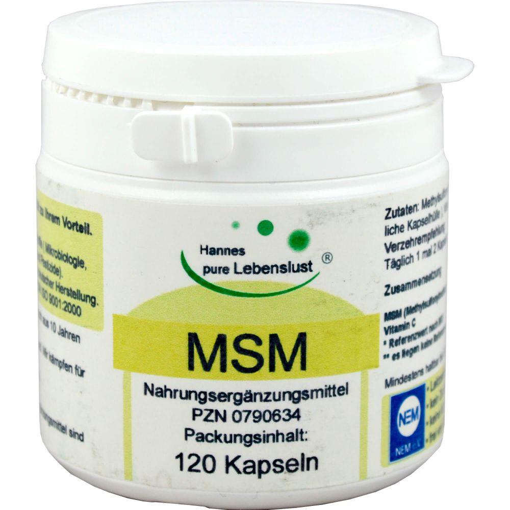 MSM+BIOPEP Vegi Kapseln