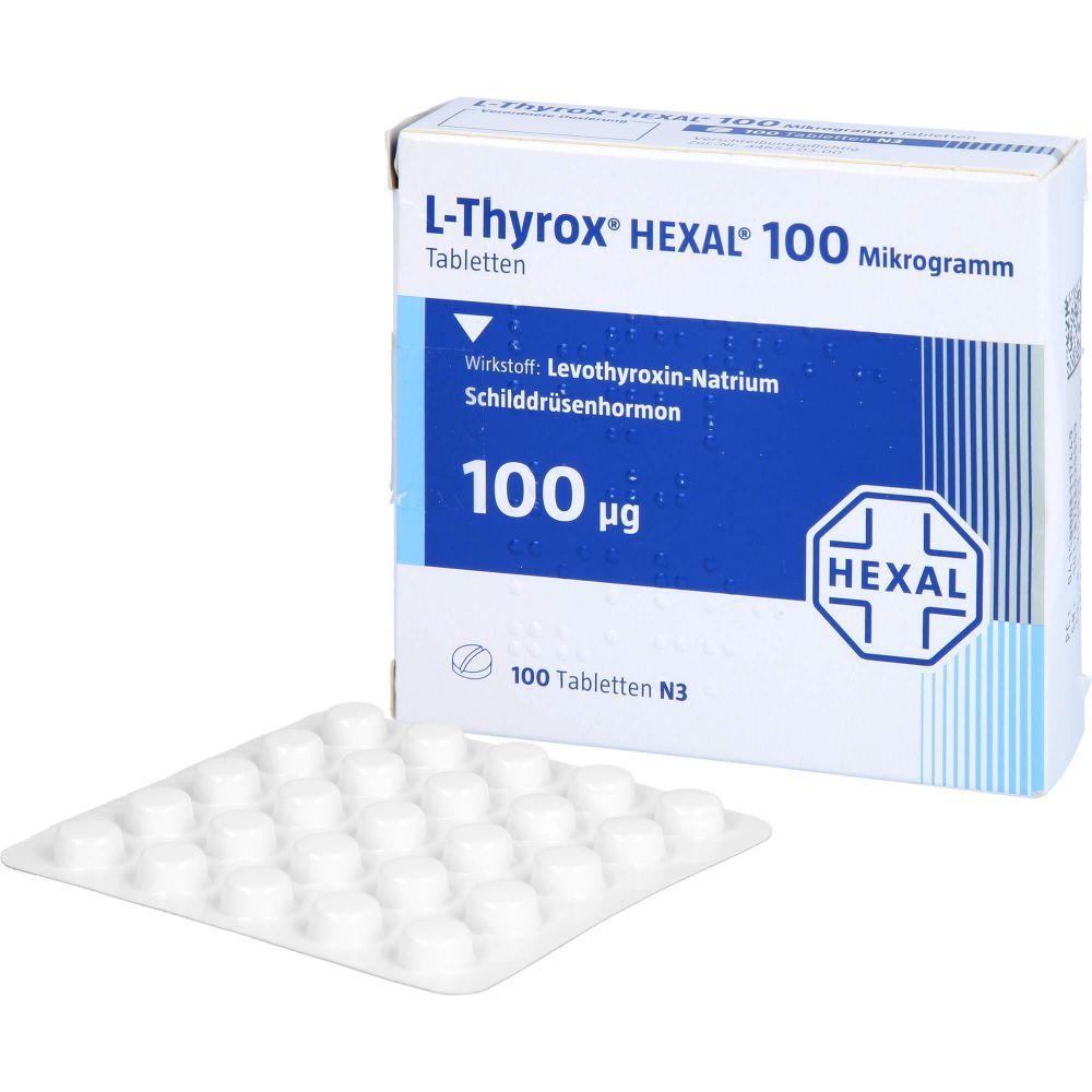 L-THYROX HEXAL 100 Mikrogramm Tabletten
