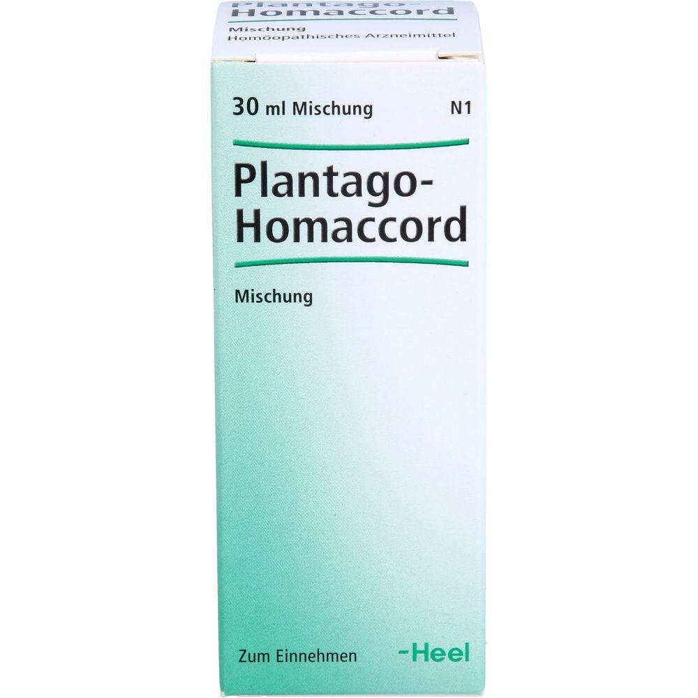 PLANTAGO HOMACCORD Tropfen