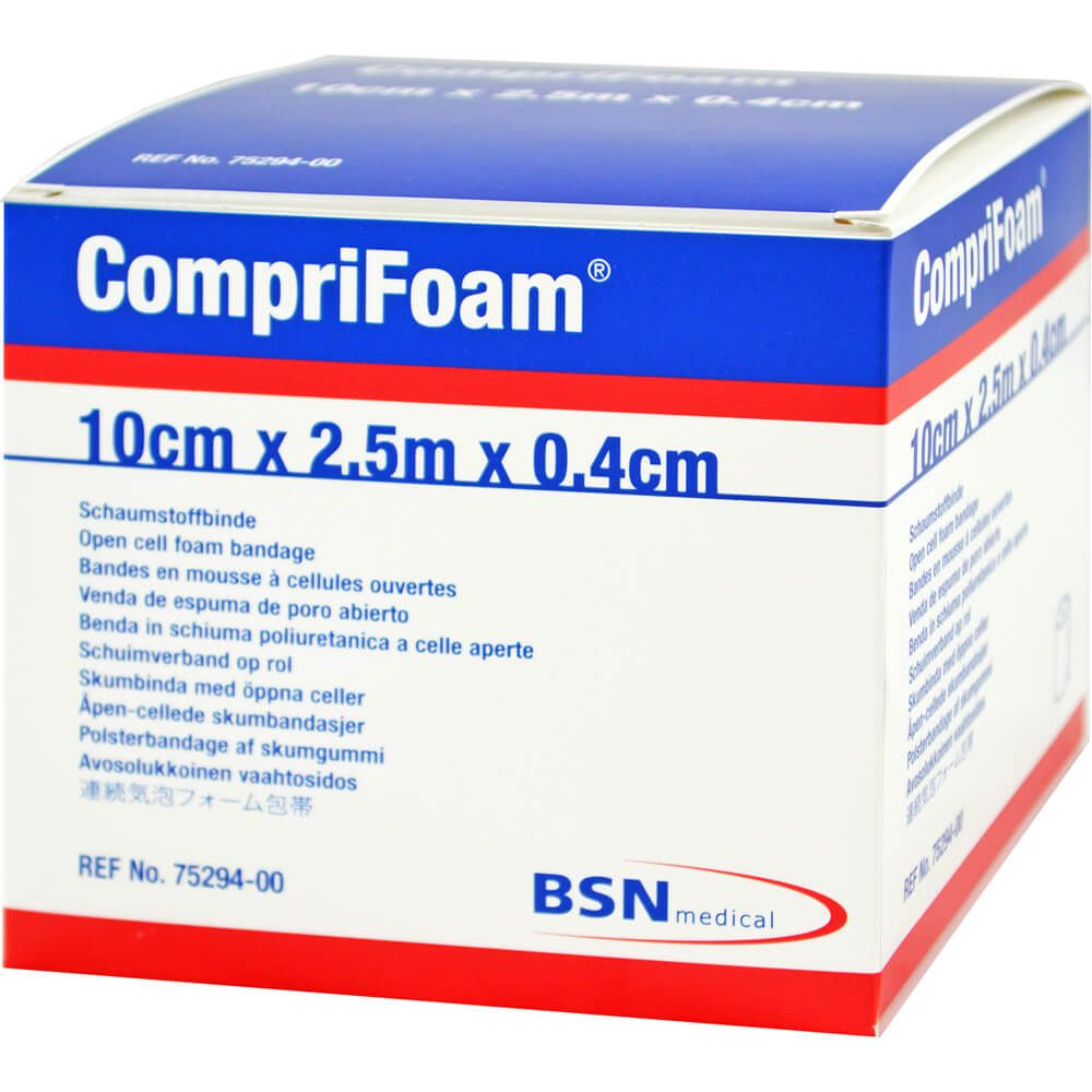 COMPRIFOAM 0,4 cmx10 cmx2,5 m Rolle