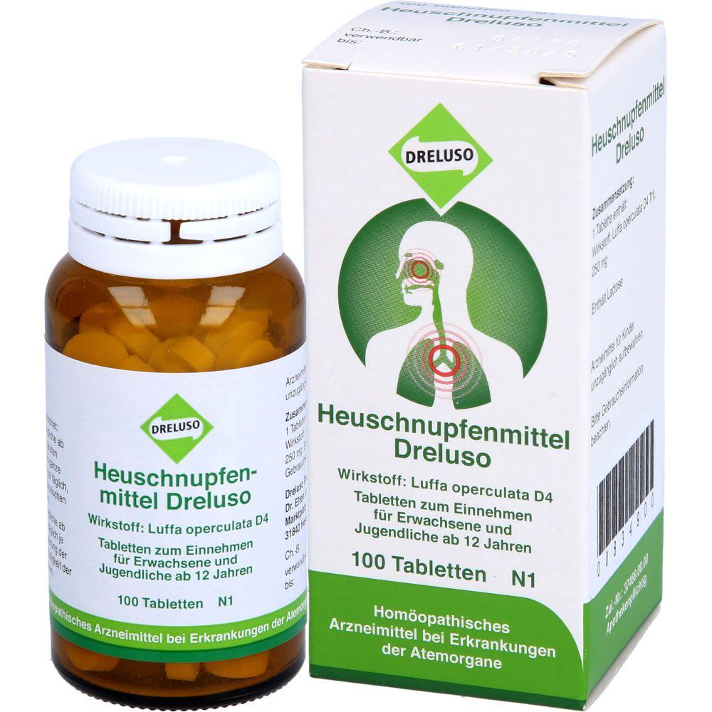 HEUSCHNUPFENMITTEL Dreluso Tabletten