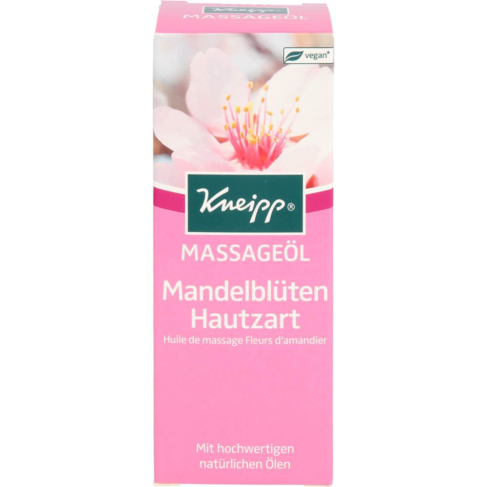 KNEIPP pflegendes Massageöl Mandelblüten hautzart