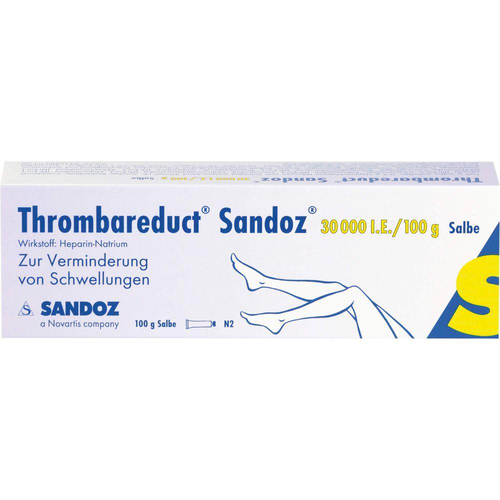 THROMBAREDUCT Sandoz 30.000 I.E. Salbe