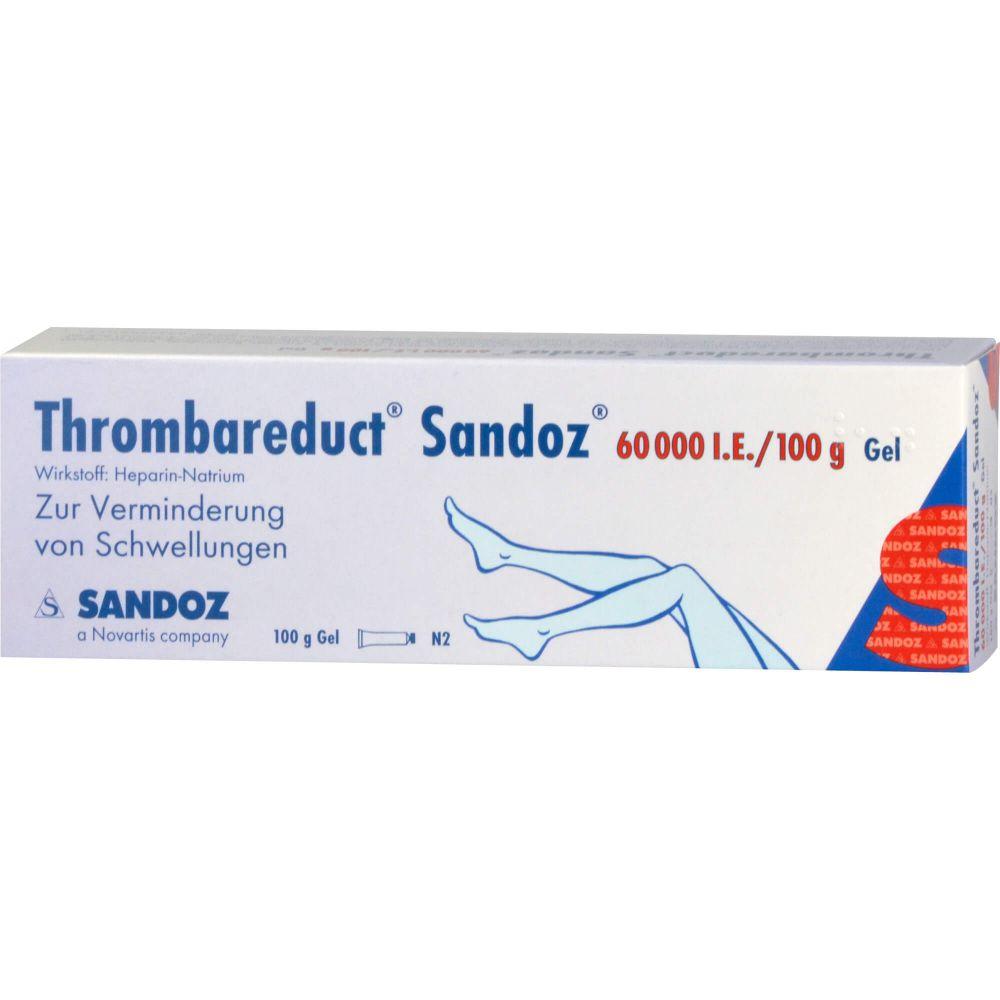 THROMBAREDUCT Sandoz 60.000 I.E. Gel