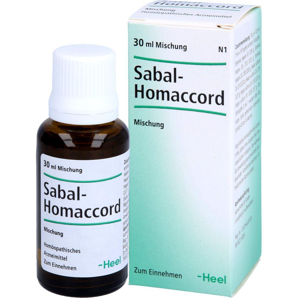 SABAL HOMACCORD Tropfen