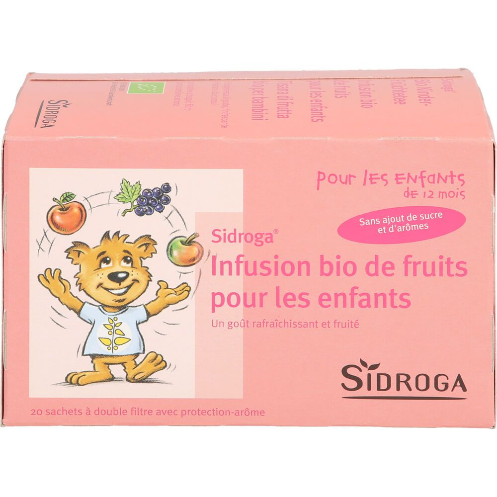 SIDROGA Bio Kinder-Früchtetee Filterbeutel
