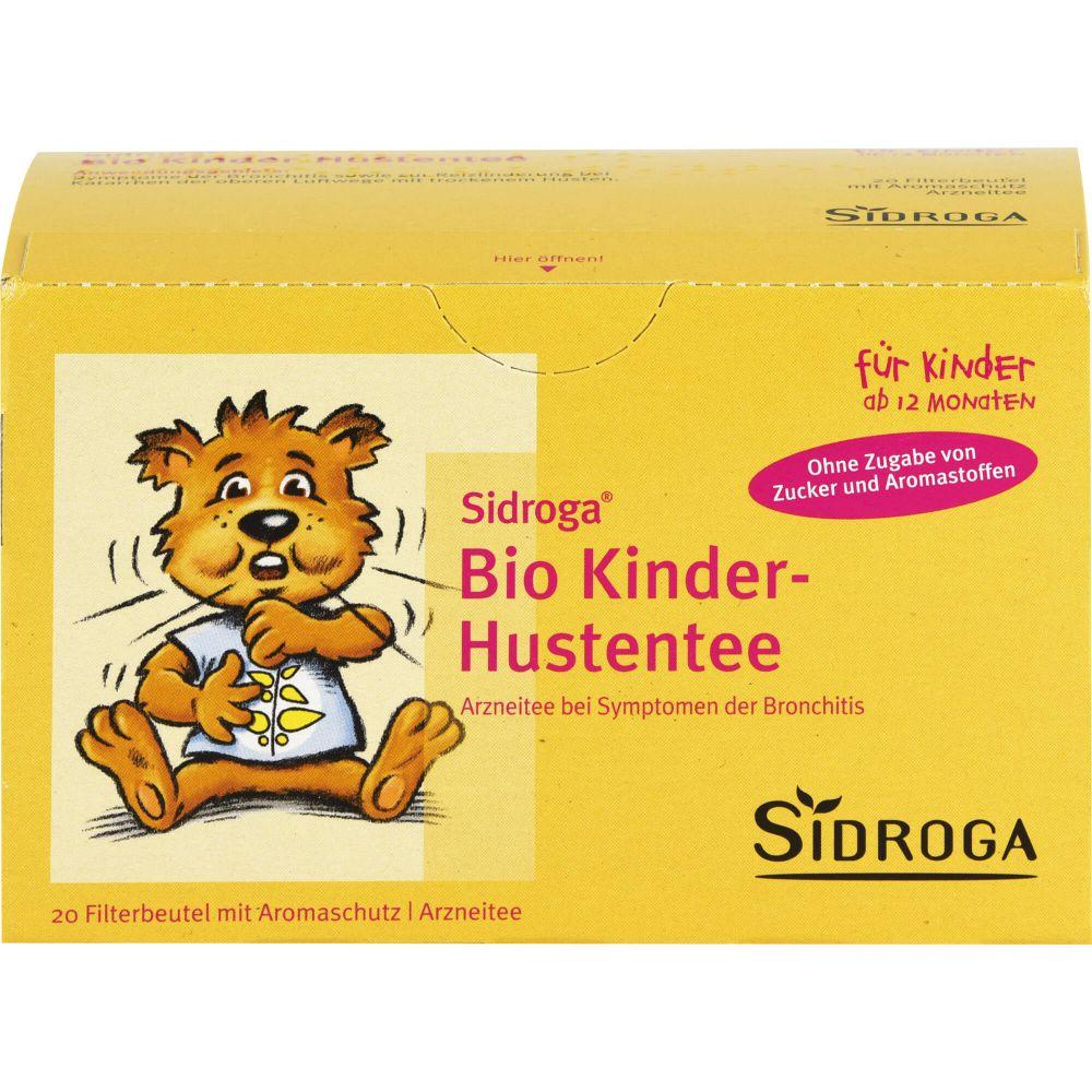 SIDROGA Bio Kinder-Hustentee Filterbeutel