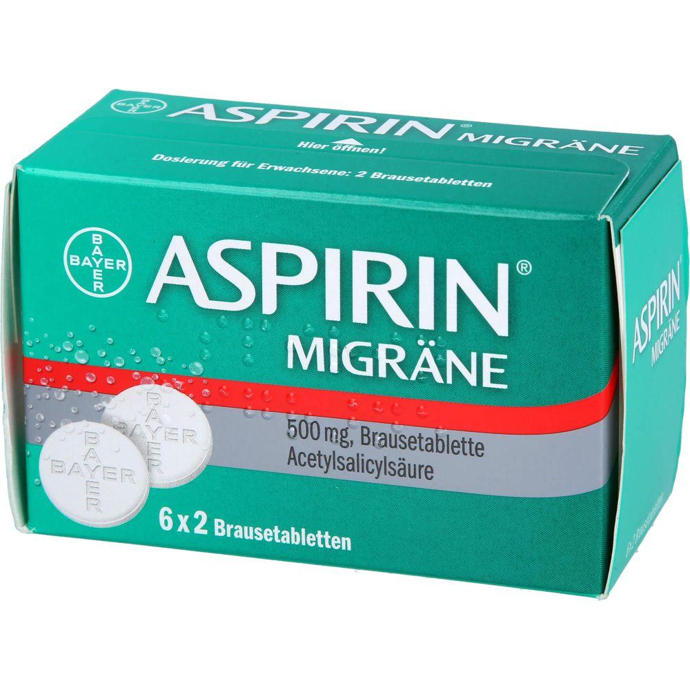ASPIRIN MIGRÄNE Brausetabletten