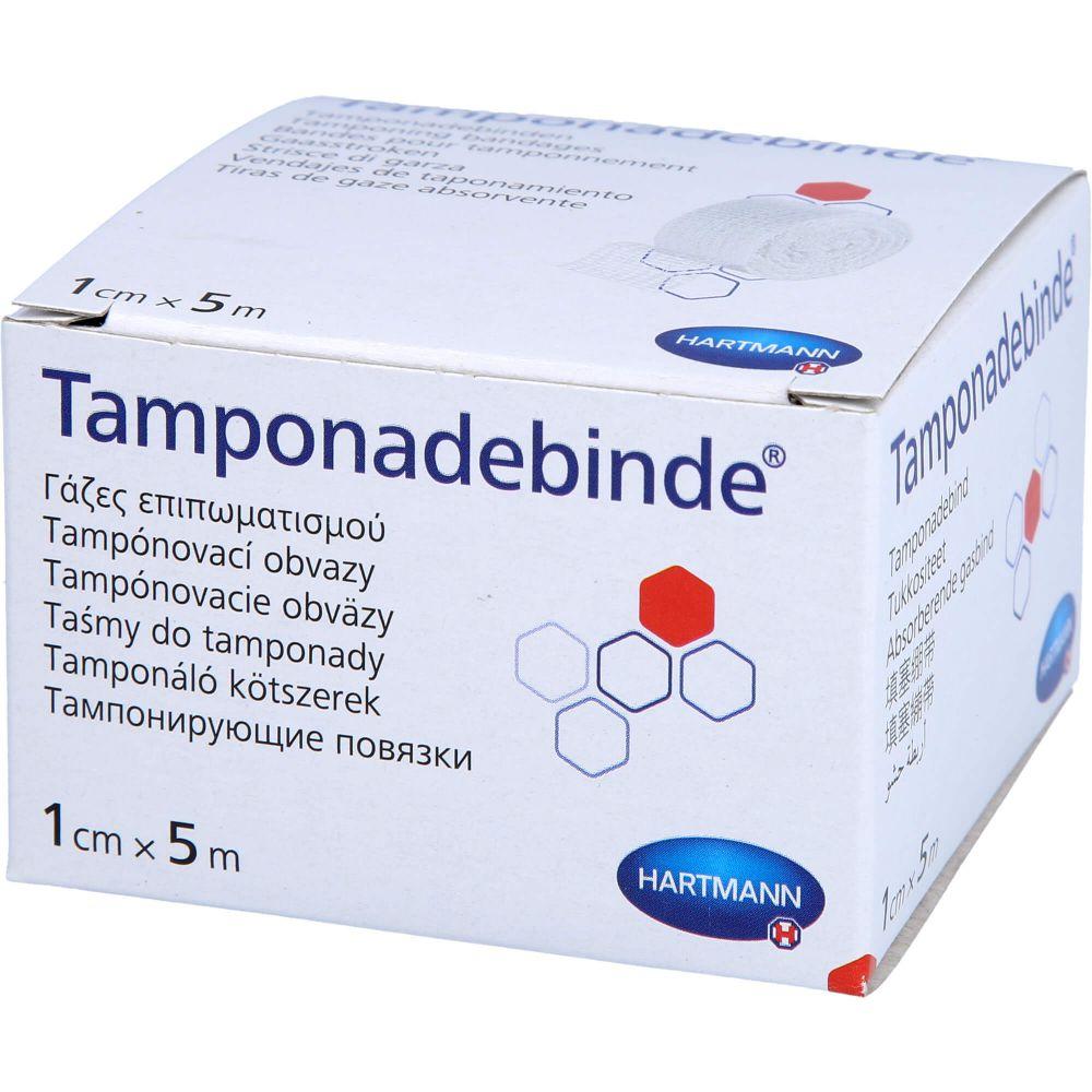 TAMPONADEBINDE 1 cmx5 m steril Hartmann