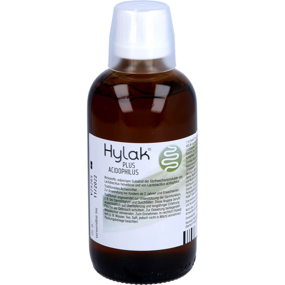 HYLAK plus Acidophilus Lösung zum Einnehmen