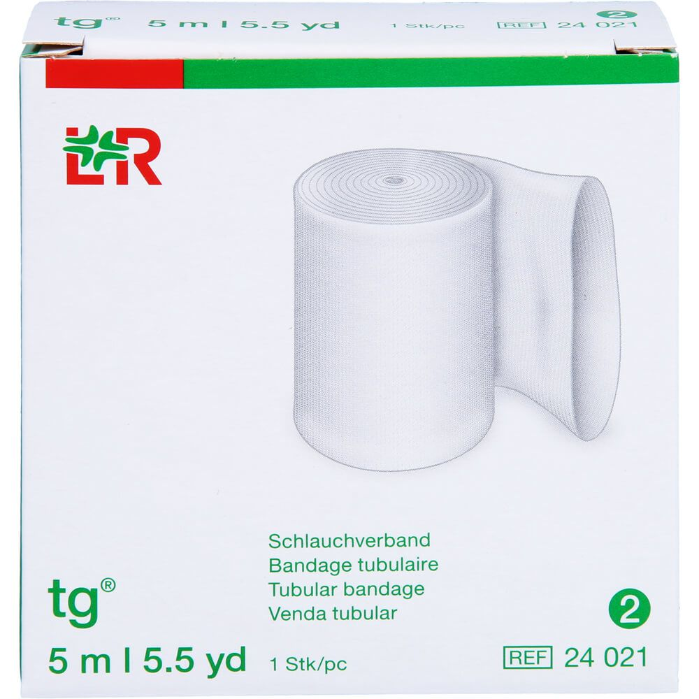 TG Schlauchverband Gr.2 5 m weiß