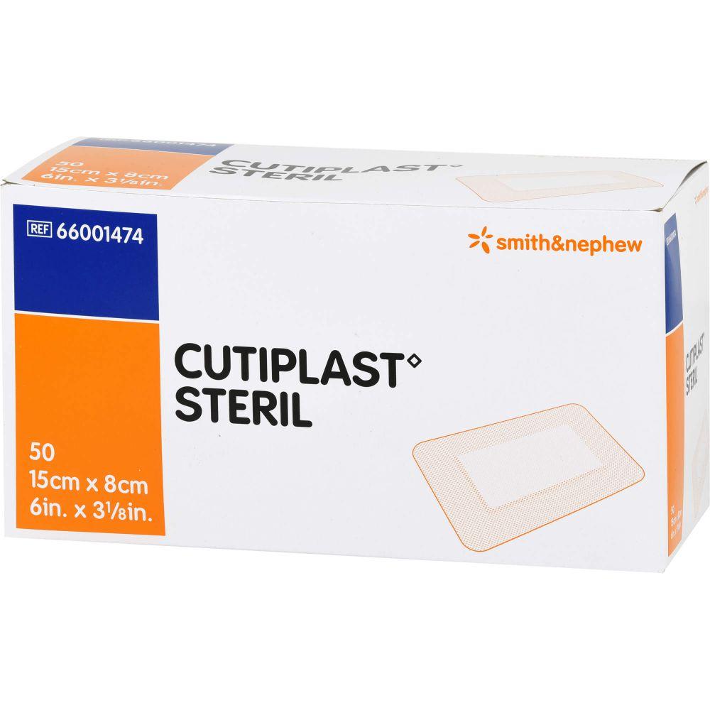 CUTIPLAST steril Wundverband 8x15 cm