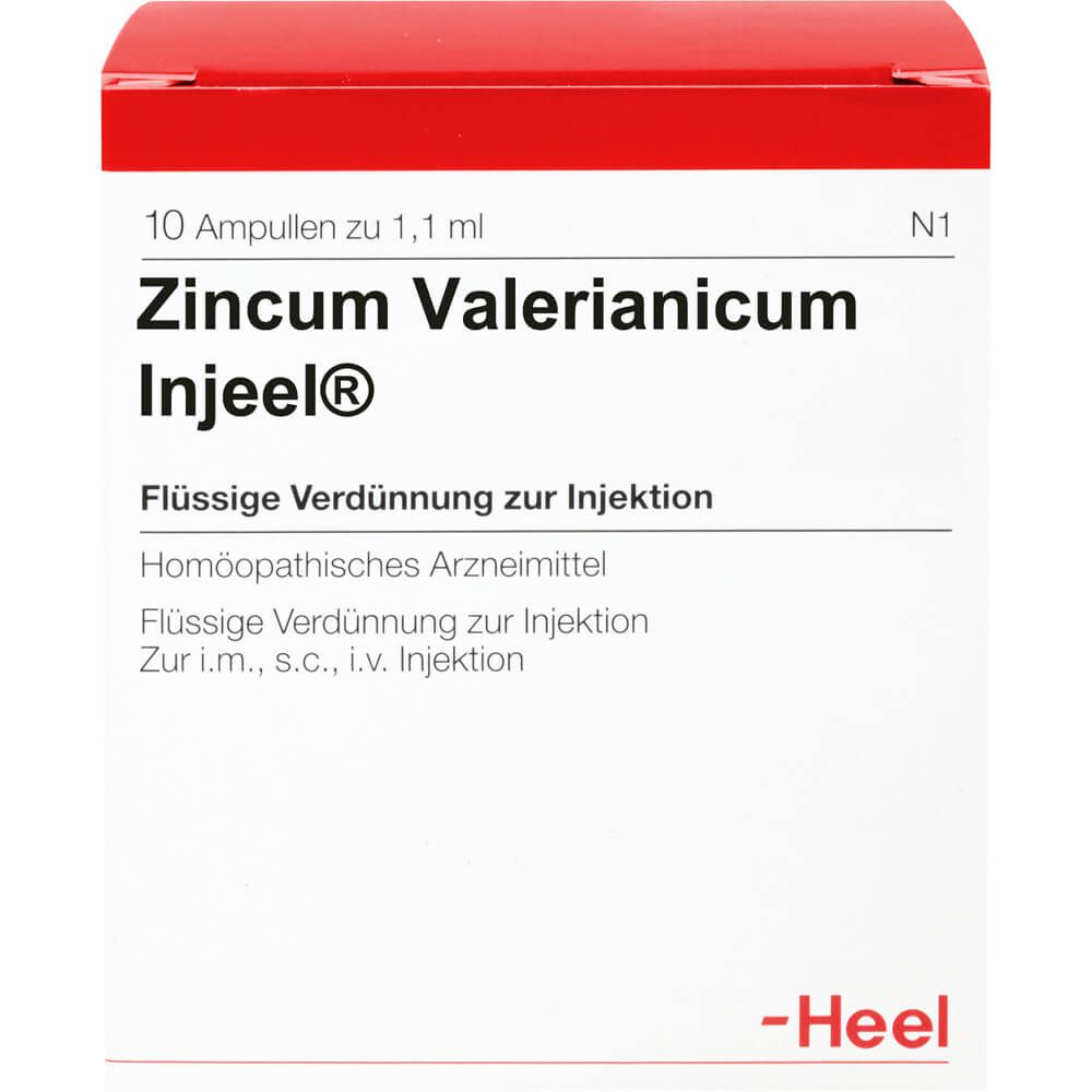 ZINCUM VALERIANICUM INJEEL Ampullen