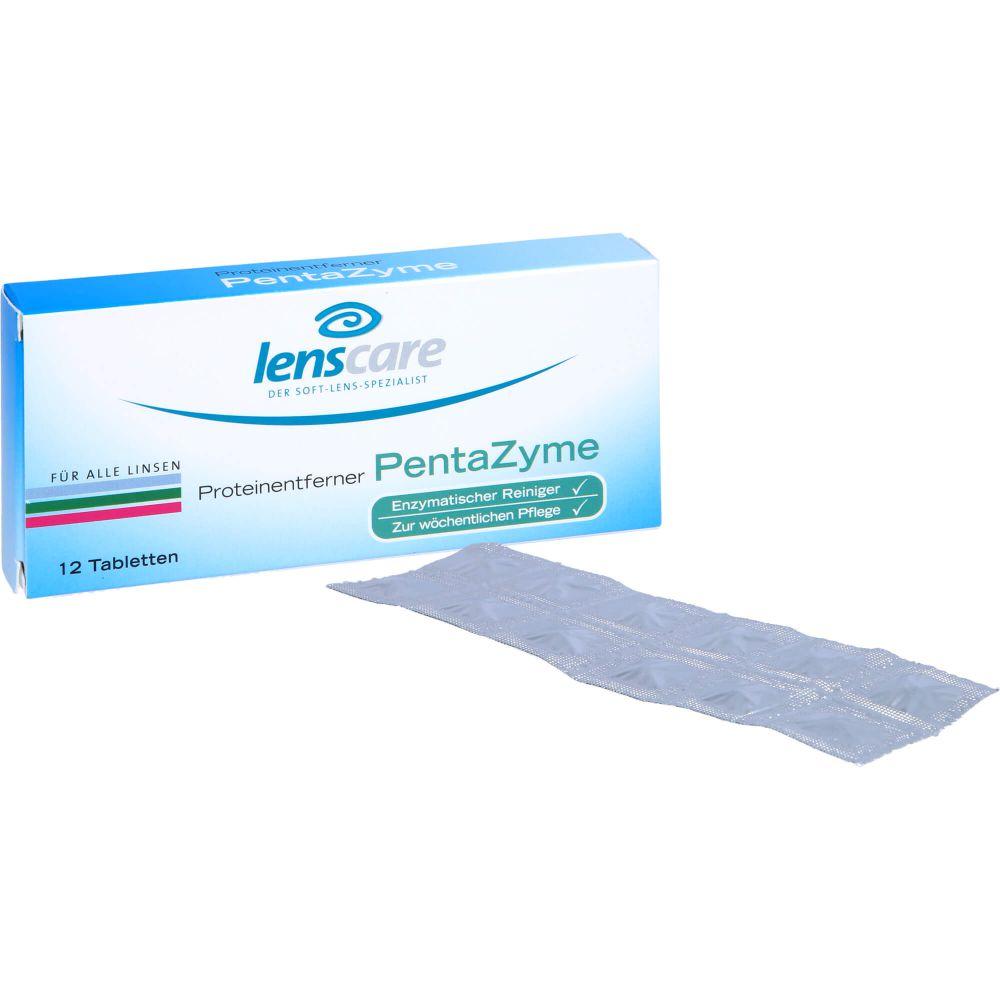 LENSCARE PentaZyme Proteinentferner Tabletten