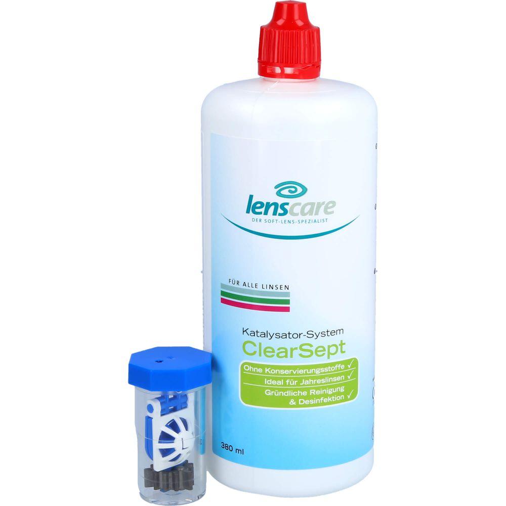 LENSCARE ClearSept 380 ml+Behälter