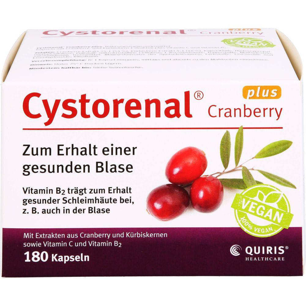 CYSTORENAL Cranberry plus Kapseln
