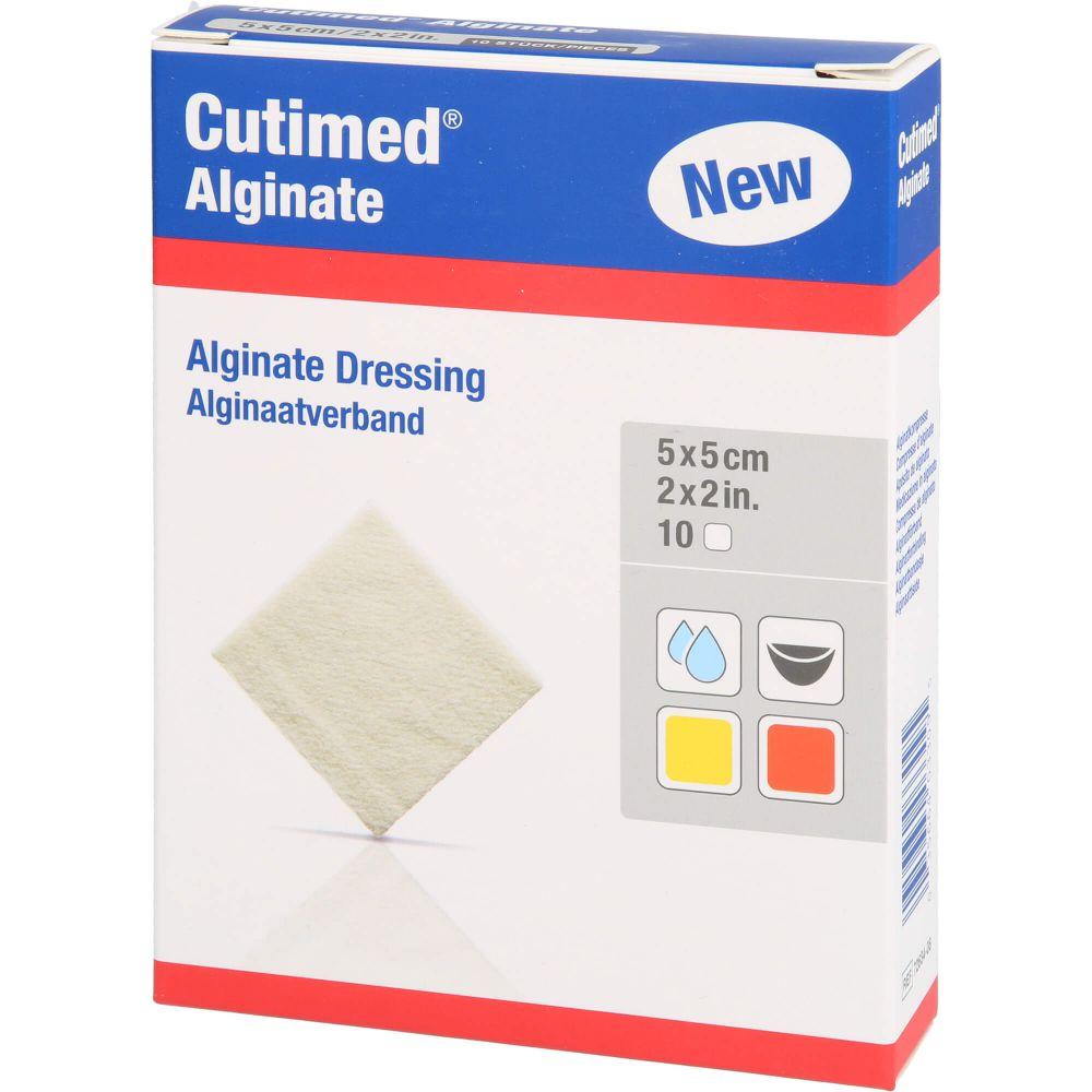 CUTIMED Alginate Alginatkompressen 5x5 cm