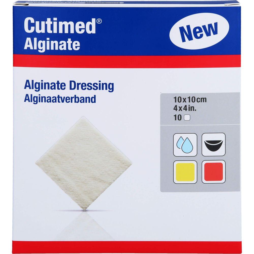 CUTIMED Alginate Alginatkompressen 10x10 cm