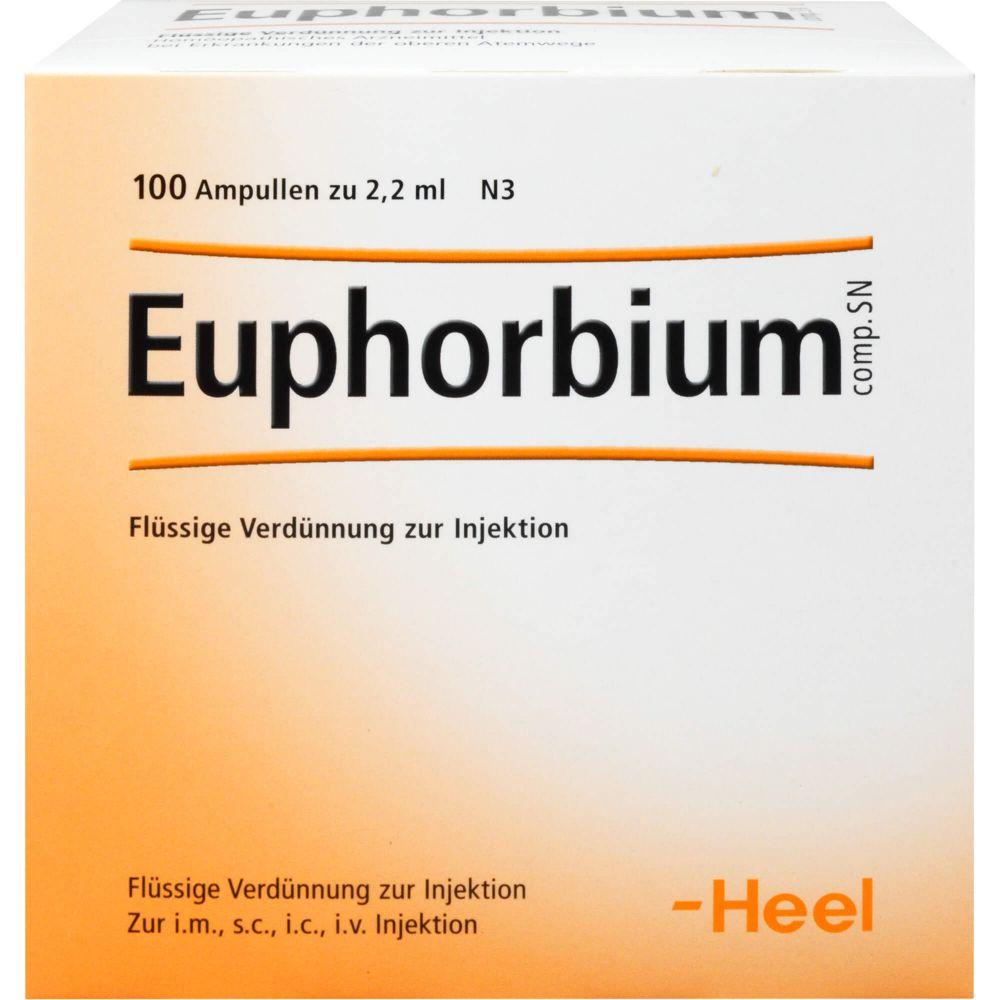 EUPHORBIUM COMPOSITUM SN Ampullen