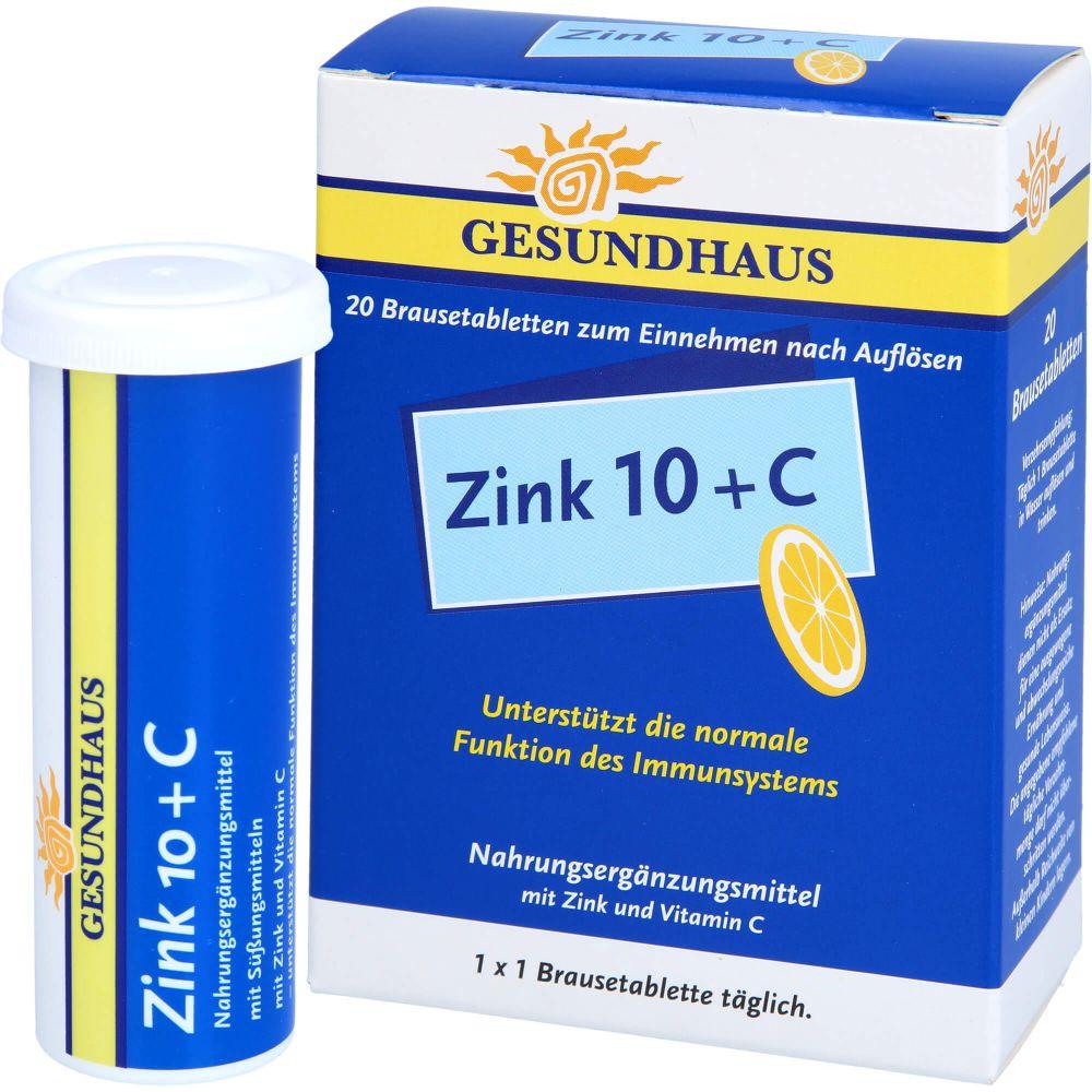 ZINK 10+C Brausetabletten