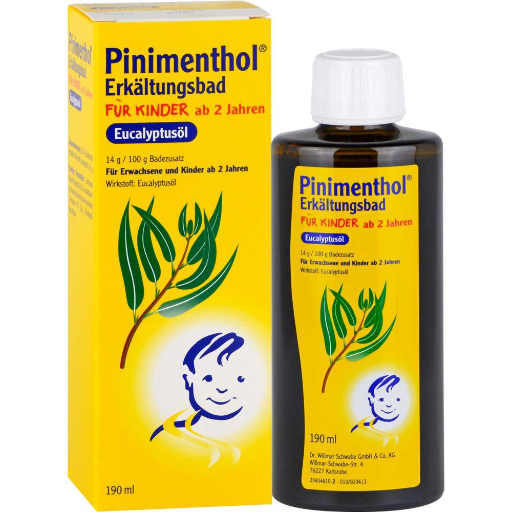 PINIMENTHOL Erkältungsbad f.Kind ab 2 J.Eucalyptus