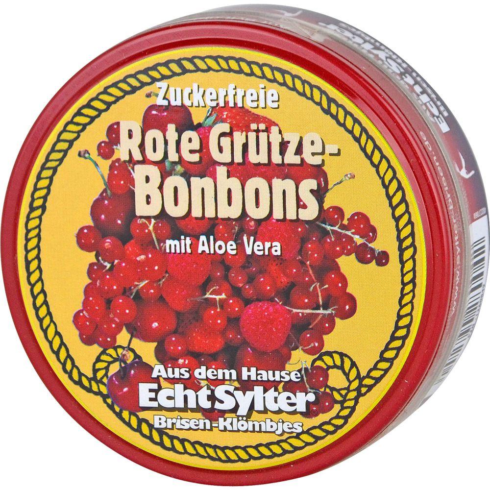 ECHT SYLTER Rote Grütze Bonbons zuckerfrei
