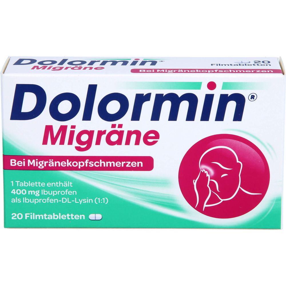 DOLORMIN Migräne Filmtabletten