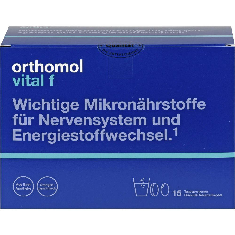 ORTHOMOL Vital F Granulat/Kap./Tabl.Kombip.15 Tage