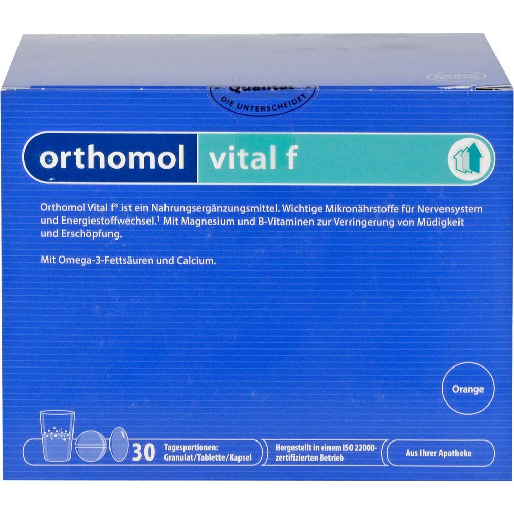 ORTHOMOL Vital F Granulat/Kap./Tabl.Kombip.30 Tage